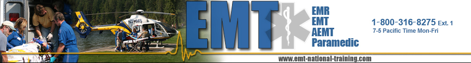 Emt National Training header