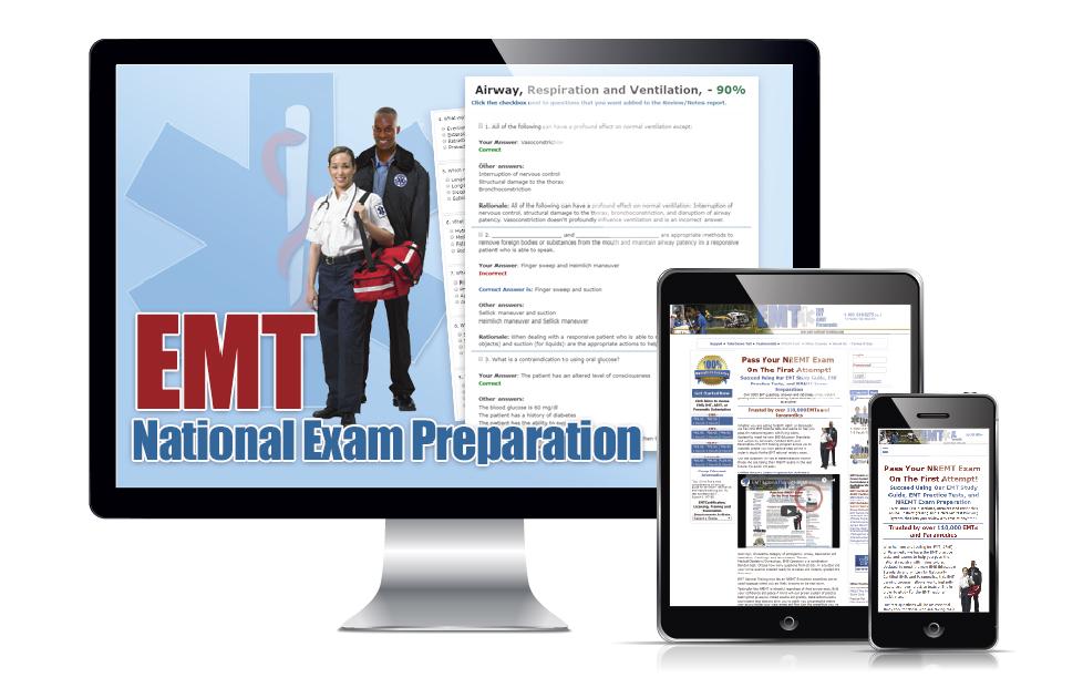 EMT National Training 1 Month EMT B Subscription
