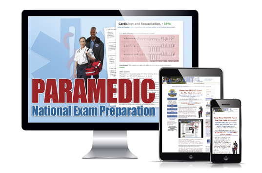 Paramedic Prep Online Subscription